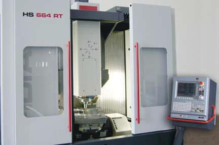 HS664 - HSC frézovací centrum pro souvislé obrábění