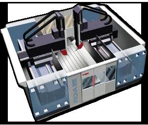 Y2K – Systém dvou 5-osých frézovacích center